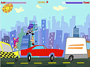 Click to Play PuppyGirls In Traffic